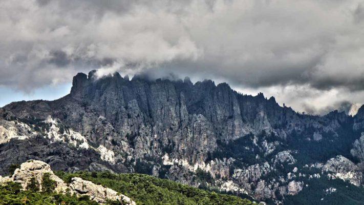 aiguille de bavella vacances en Corse