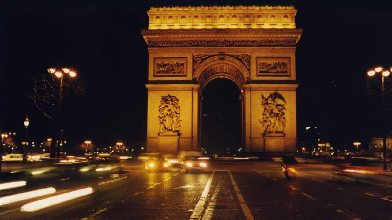 arc de triomphe vacances à paris