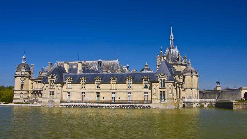 chateau de chantilly vacances en france