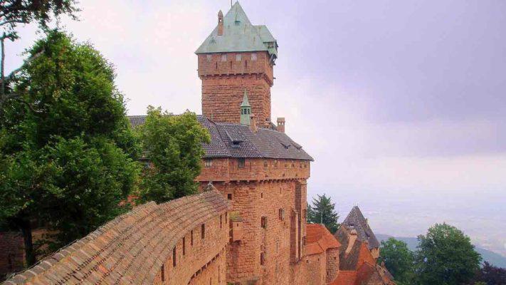 chateau du haut koenigsbourg vacances grand est