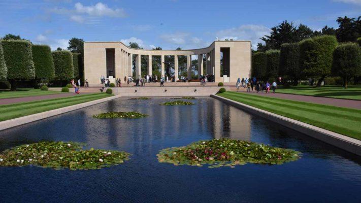 cimetière américain de colleville vacances en normandie