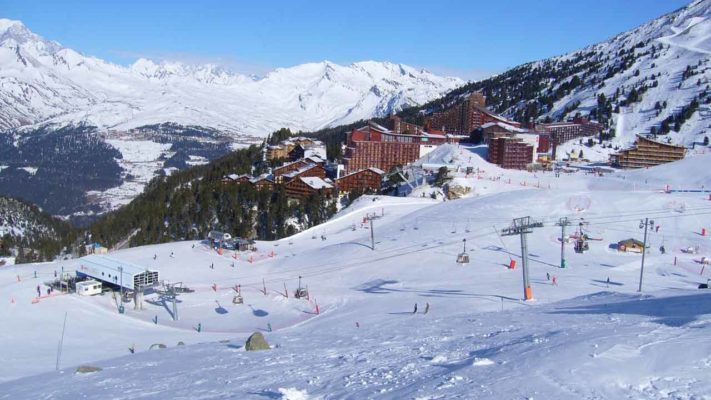 faire du ski en haute-tarentaise
