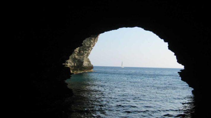 grottes de bonifacio vacances en corse