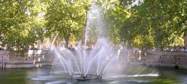 jardin de la fontaine vacances hérault
