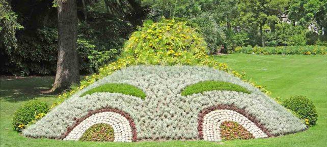 jardin des plantes à Nantes