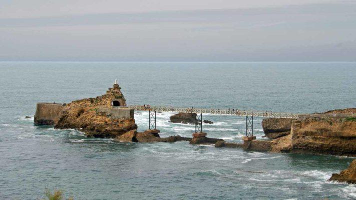 rocher de la vierge vacances biarritz