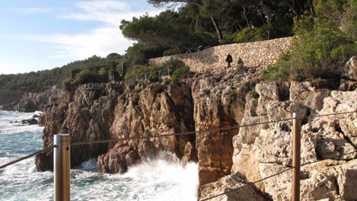 sentier du littoral vacances antibes