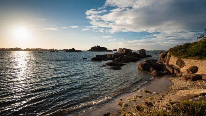 site naturel de Ploumanac'h vacances en bretagne