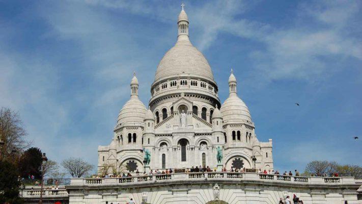 basilique sacré coeur Montmartre vacances à paris