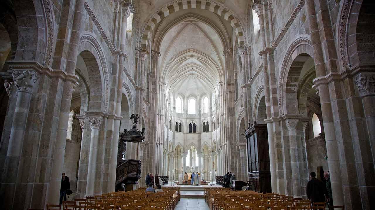 basilique sainte marie madeleine visite france