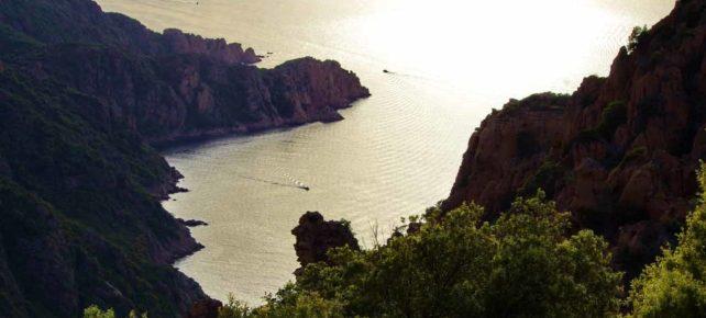les calanches de cliffs vacances en corse