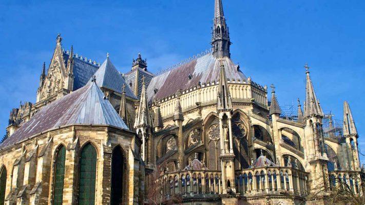 cathédrale notre dame de Reims vacances grand est