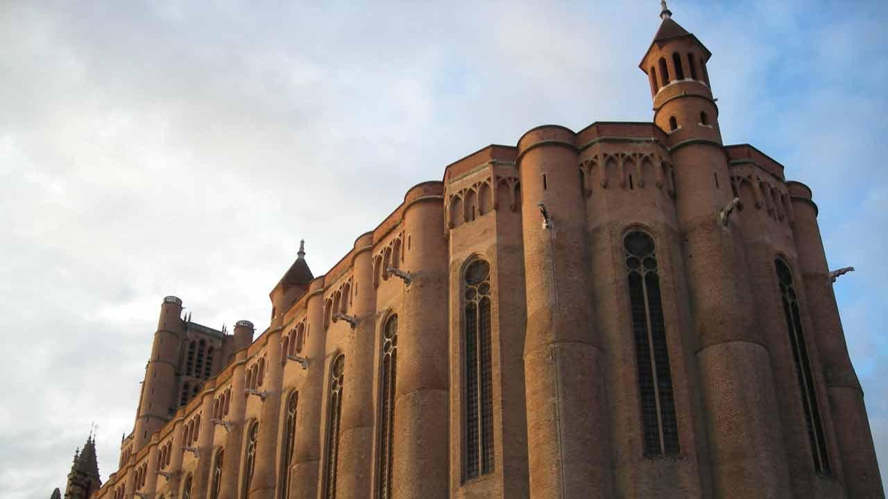 cathédrale sainte Cécile vacances herault