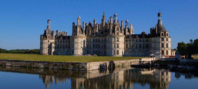 château de Chambord séjour en france