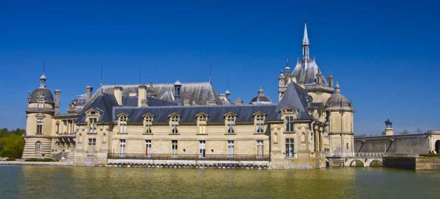 chateau de chantilly vacances en france