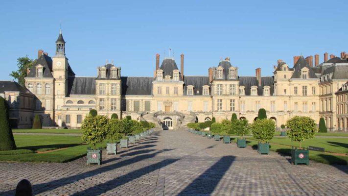 château de fontainebleau vacances paris