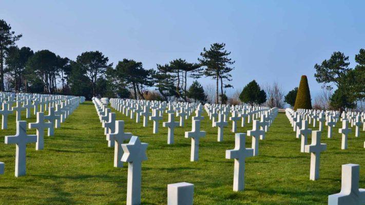 cimetière américain vacances grand est