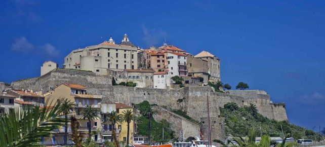 citadelle de calvi vacances en Corse