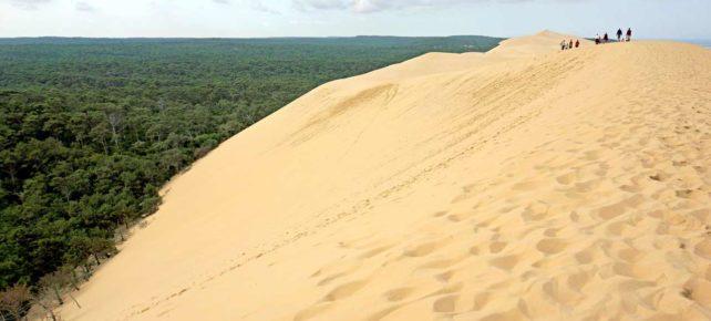 dune du pilat en vacances france
