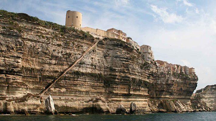 escalier du roi Aragon vacances en Corse