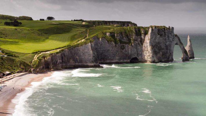 falaise d'etretat vacances en normandie