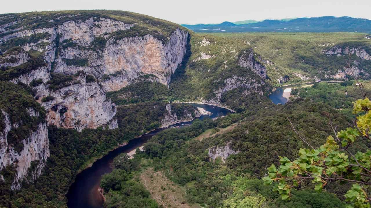 gorges de l'Ardèche en Rhône Alpes
