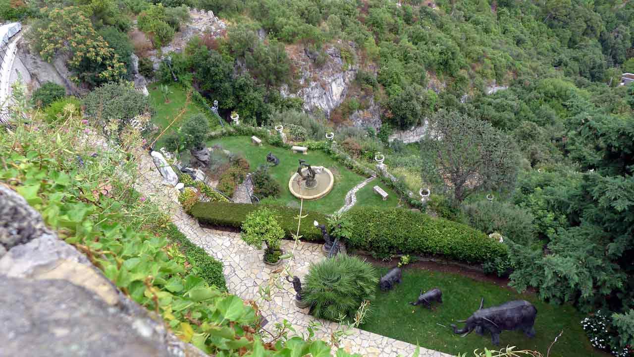 le jardin exotiques d'Eze vacances paca