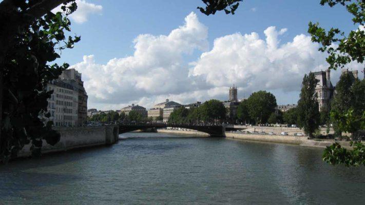 la seine vacances à Paris