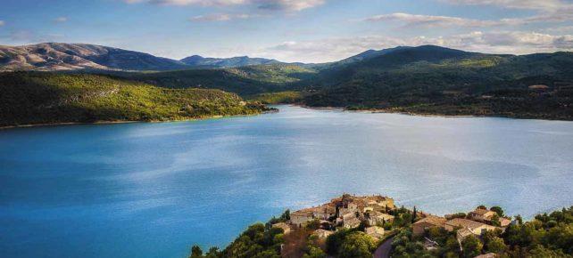 lac de sainte croix vacances dans le sud