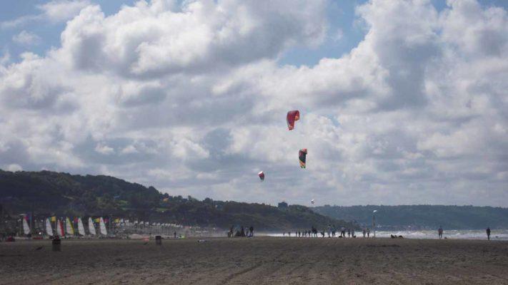 plage de deauville vacances en Normandie