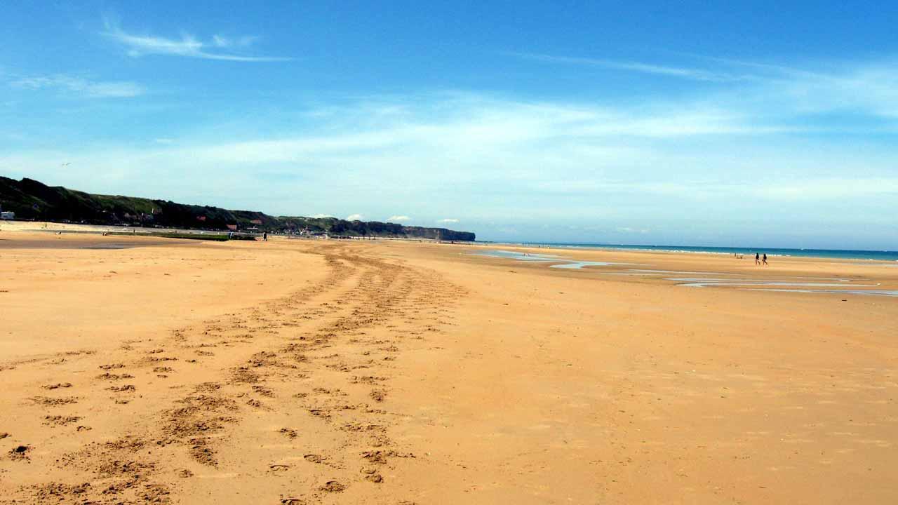 plage omaha beach vacances normandie