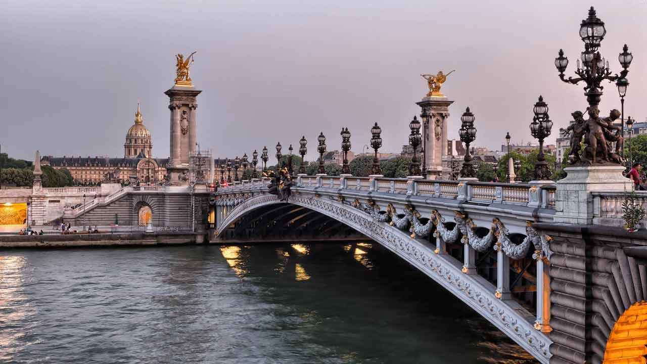 le pont Alexandre 3 vacances à Paris