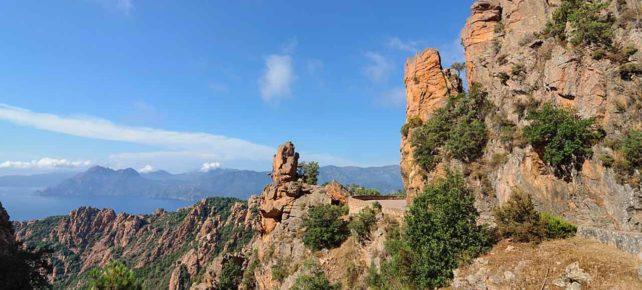 randonnée sur la D81 vacances Corse