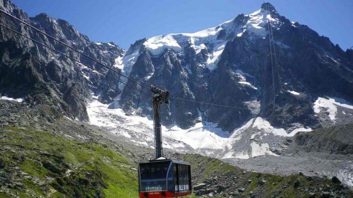 visite de l'aiguille du midi vacances en montagne
