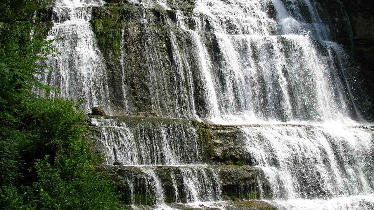 visite cascade du hérisson