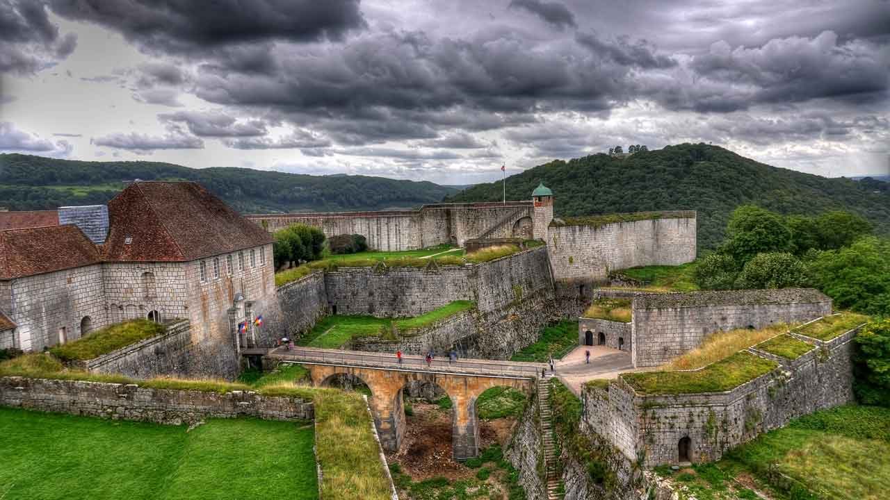 visite de la citadelle de Besançon vacances en bourgogne
